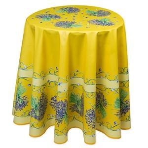 Wunderschöne runde Tischdecke, Durchmesser 180 cm, 100% Cotton.