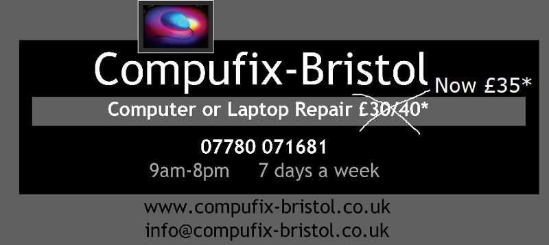 Any computer or Laptop Repair only £35*