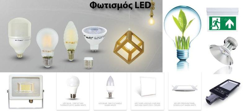 Led Lighting for commercial and industrial use