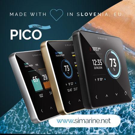 Simarine Pico batery monitor