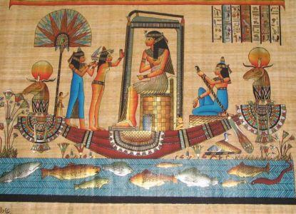We are producers of high quality ancient and historical handmade papyrus paper by the same method the old Egyptians made it, it is widely used as artists materials , in stationery and in advertisement
