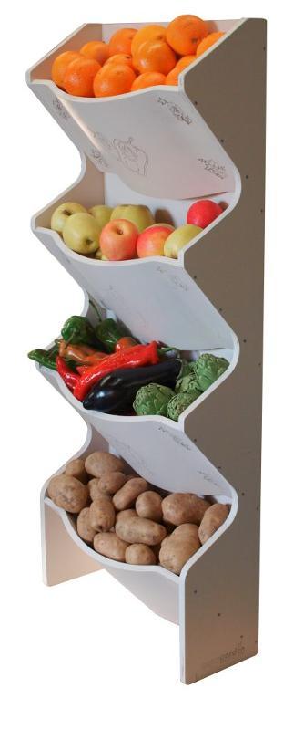 Estantería Vertical para Fruta y Verdura