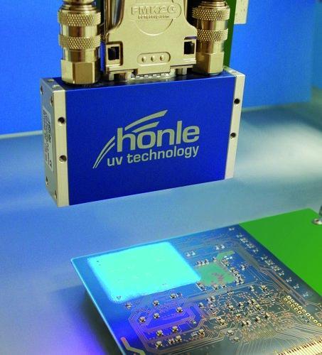 UV LED Epoxid-Klebstoff