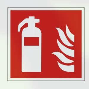 Brandschutzkennzeichnung, Feuerlöscher, Lumipro