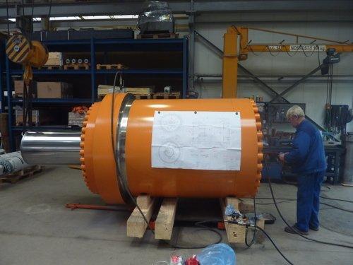 Druckprüfung Großzylinder
