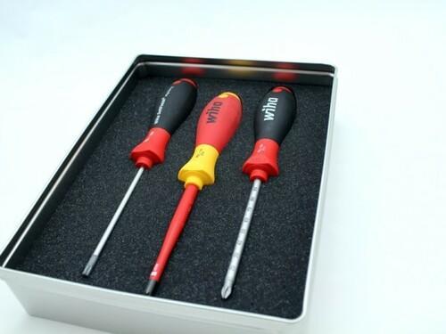 Produktverpackung für Werkzeuge