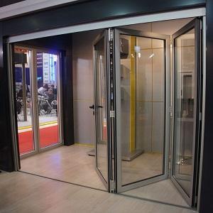 Алюминивая дверь(гармошка) ,удобна в эксплуатации.Позволяет разнообразить варианты открывания створок что экономит пространство.Алюминивая дверь(гармошка) это отличный выбор.