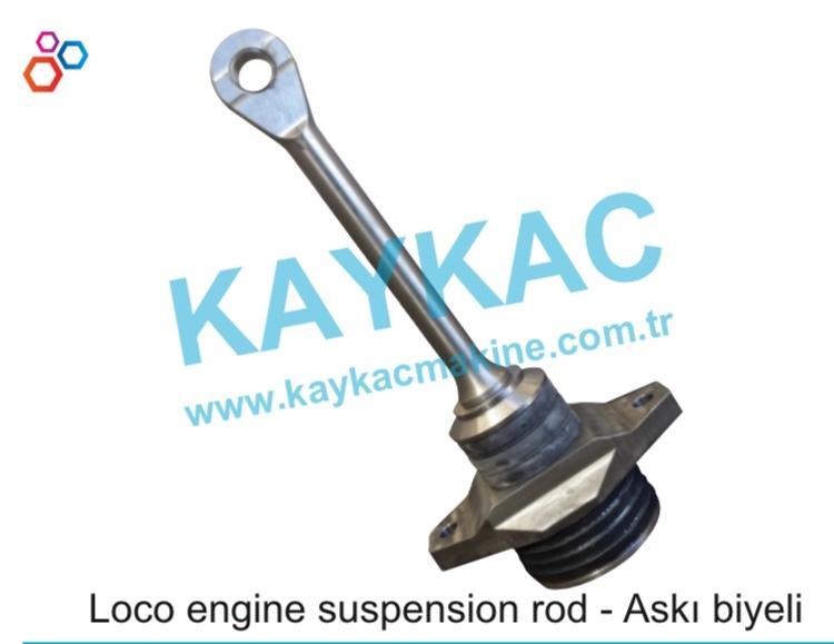 Loco engine suspension Rod