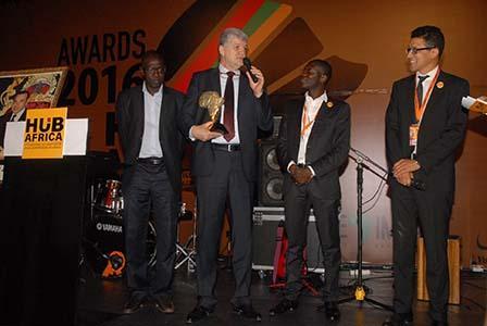 Nielsen reçoit le 1er prix HUB AFRICA en 2016