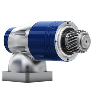 Low backlash right-angle gearheads with output shaft or output flange. This gearhead series is suitable for economical applications. 