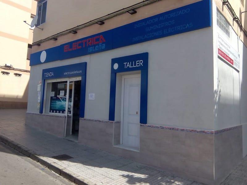 Electricity shop in San Fernando