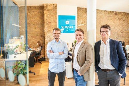 Vimcar Gründerteam