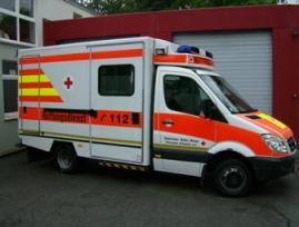Das Fahrzeug kann im Bedarfsfall mit zusätzlicher Intensivausstattung ausgerüstet werden.
