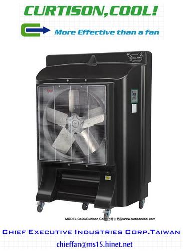 Keep cool with Curtison, Cool! portable evaporative cooling units