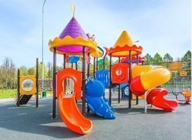 Progettazione e produzione giochi in plastica per giardini e parchi divertimento. Playground, tappeti elastici, strutture gonfiabili.