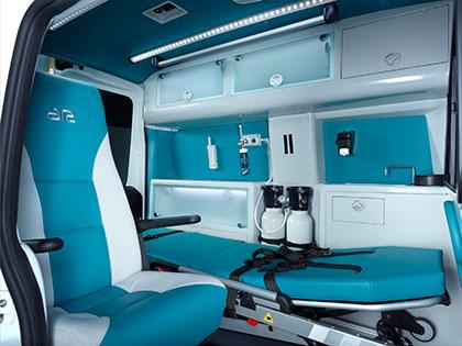 AR Ambulance A1 Interior