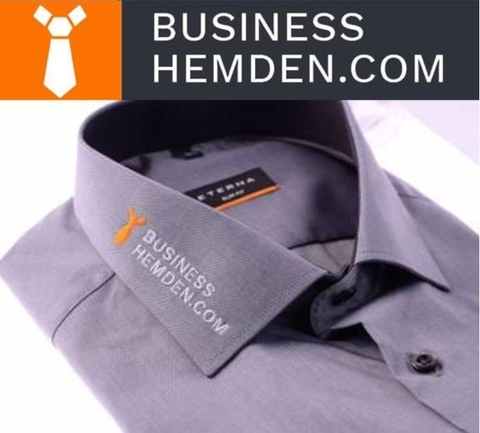 Hemden besticken lassen - schnell & zuverlässig seit 2002