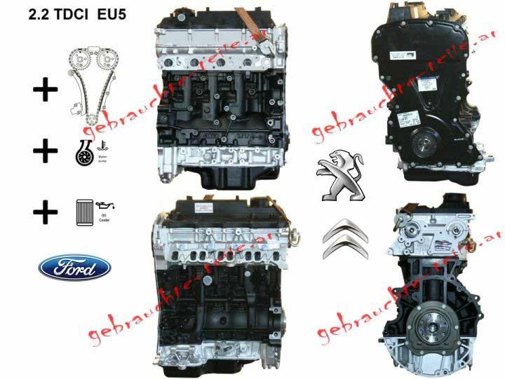 Remanufactured Engine Ford 2.2TDCi