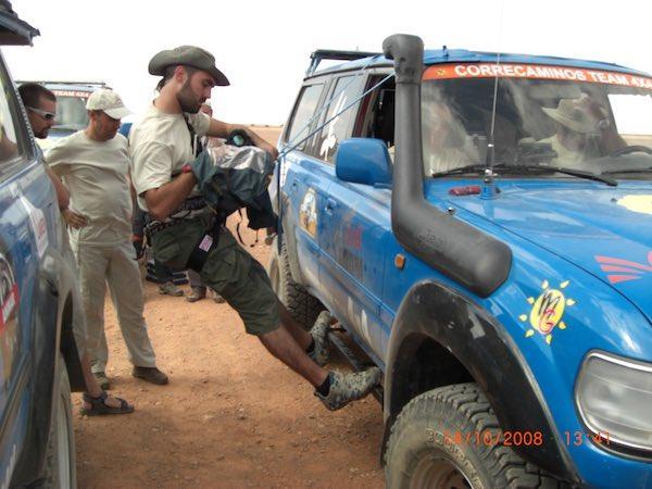 Director de Fotografía durante las tres semanas de rodaje del documental a través del desierto de Libia.