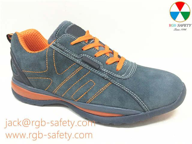 RGB SAFETY Mens safety toe trainer shoes