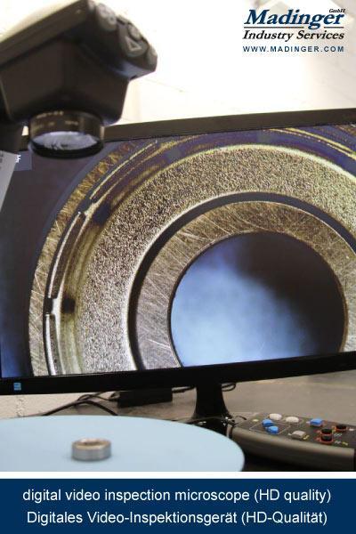 digital video inspection microscope (hd quality), digitales Video-Inspektionsgerät (HD-Qualität)