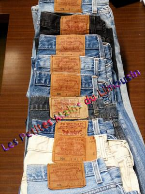 SECOND HAND -JEANS LEVI'S -