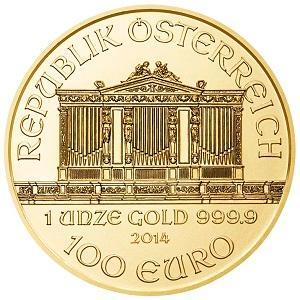 Goldmünze Wiener Philharmoniker