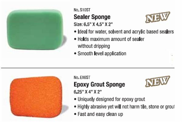 is made to be much denser than our other sponges so that it will hold the maximum amount of sealer for faster application.