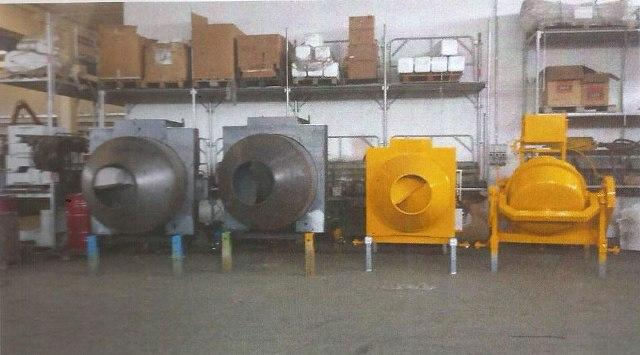 Pruduction of tilting and concrete mixers