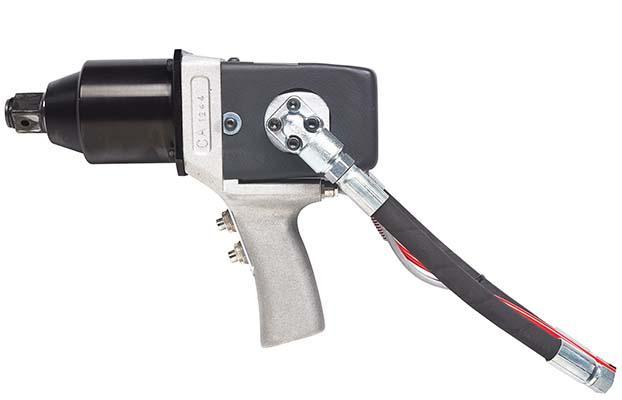 """Avvitatore idraulico 1"""", progettato per assistenza, manutenzione di veicoli ed applicazioni industriali. applicazioni e mercati: sostituzione pneumatici, manutenzione produzione industriale,..."""