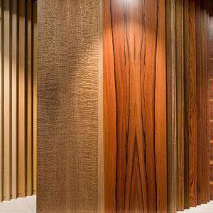 140 Holzarten, 5 Mio m² Furnier auf Lager