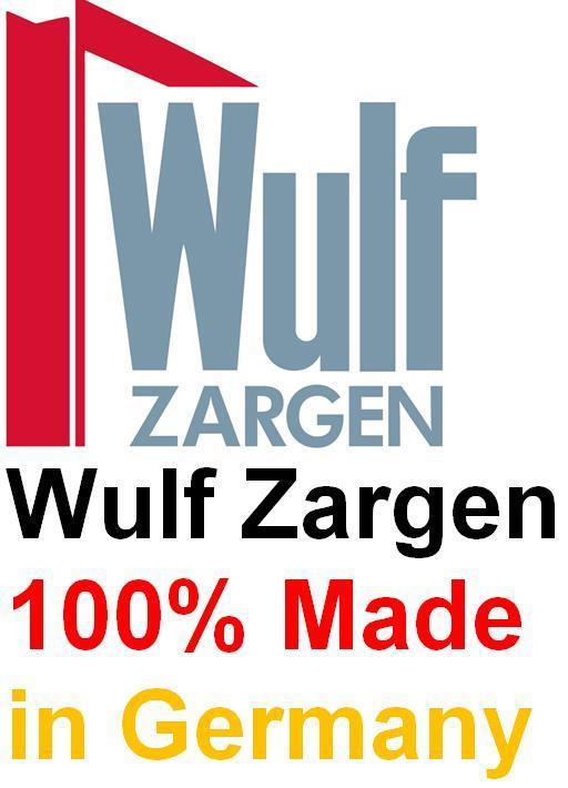 Wulf Zargen werden zu 100% in Deutschland gefertigt, mit deutschem Material in Deutschland.