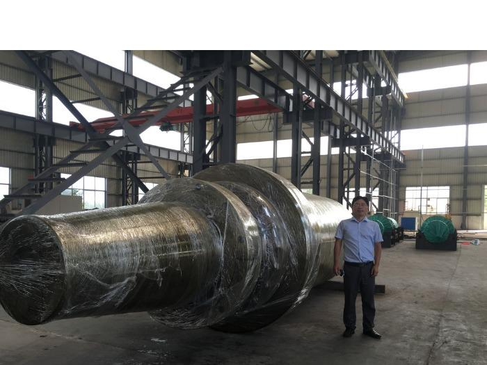 Hydraulic cylinder with 3600tons pressure