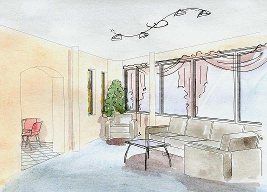 Inretior design, total renovation of apartments in Moscow, legalization the replanning of apartments, two years warranty and insurance.