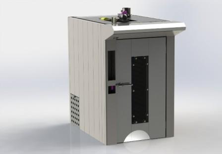 Our project about rotor oven for baking industries