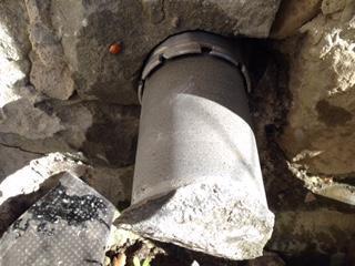fori a carotaggio su pietra e cemento Cantiere Roma