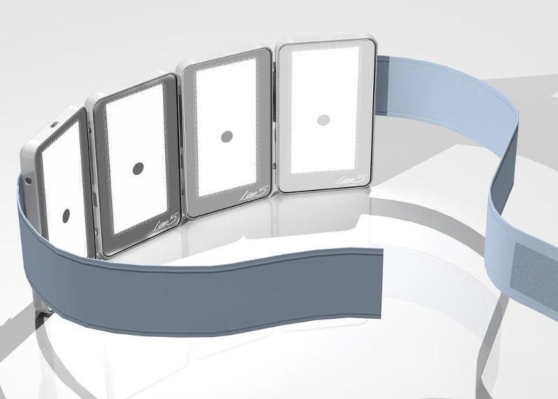 Le Pad Line5 PARIS, concept unique, a des effets anti-rides, anti-vergetures et anti-cellulite, grâce aux effets de la lumière rouge, LED, permettant la stimulation du renouvellement cellulaire.