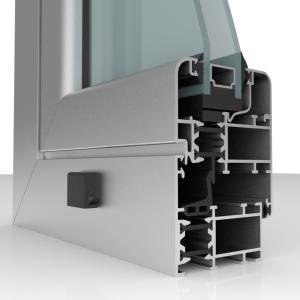 infissi con profilo taglio termico r-62 tt original system sapa, per garantire efficienza energetica e alti standard qualitativi.