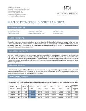 Plano de proyecto