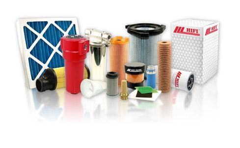 A range of industry filter