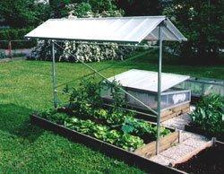 Pflanzenschutzdach