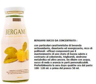 Bergamotto succo concentrato