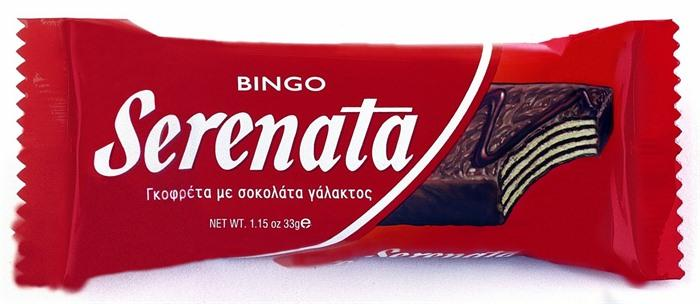 Serenata chocolate wafers 33g