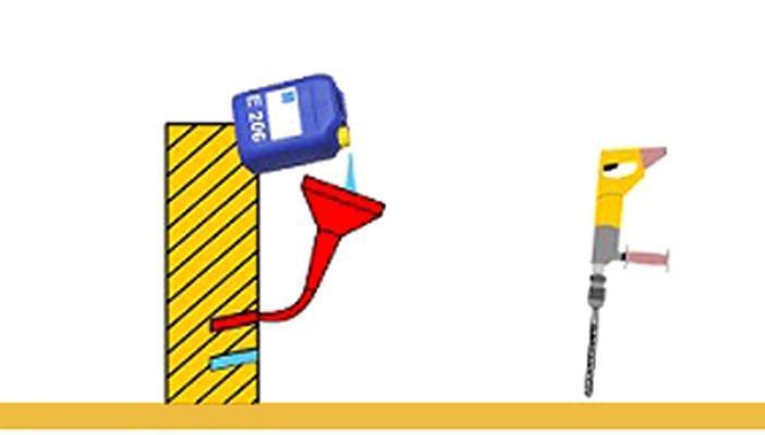 POL KEM    E - 206 Trattamento Anti-Risalita acque piovane