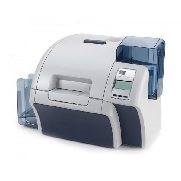 Zebra ZXP Serie8 es una impresora de tarjetas de identificación que permite imprimir tarjetas con calidad fotográfica a altísima velocidad.