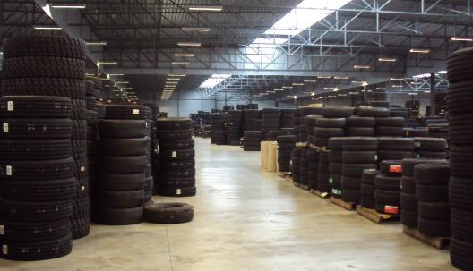 view our warehouse 150.000 tyres in stock passenger, light truck, truck