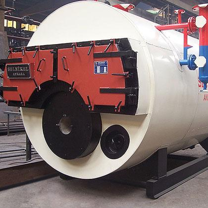 Natural Gas and Liquid Fuel (Saturated / Super-Heated Steam) Fire Tube Boilers