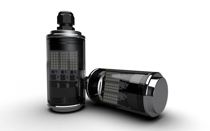 Luminaire à LED IP69K ATEX - Luminaires à LED - pour bateaux - Luminaire à LED pour voiliers - tertiaire - industrie - Luminaire à LED en cuivre, laiton, inox, titane, inox - luminaires à LED