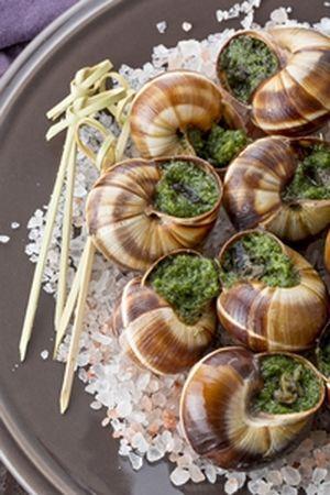 escargots préparés (helix lucorum) disponible en frais, surgelés et conserves.