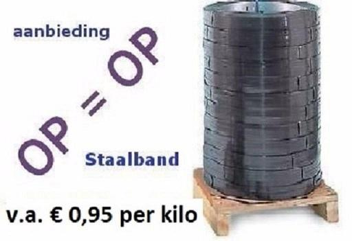 Staalband aanbieding